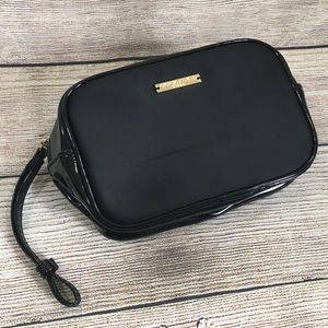 Giorgio Armani Black & Gold Makeup Bag